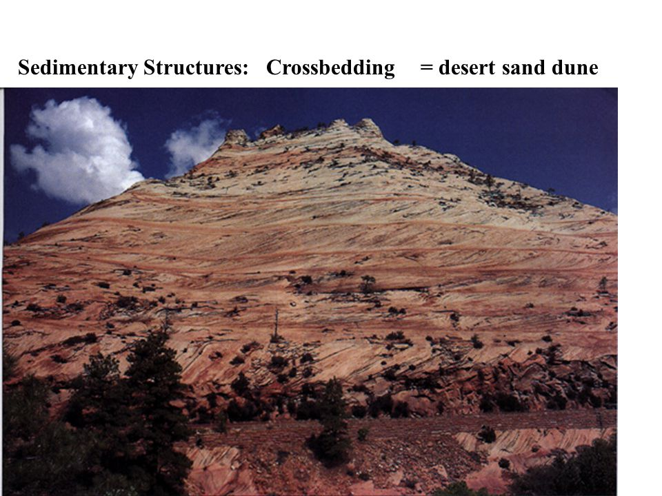 Sedimentary Structures: Crossbedding