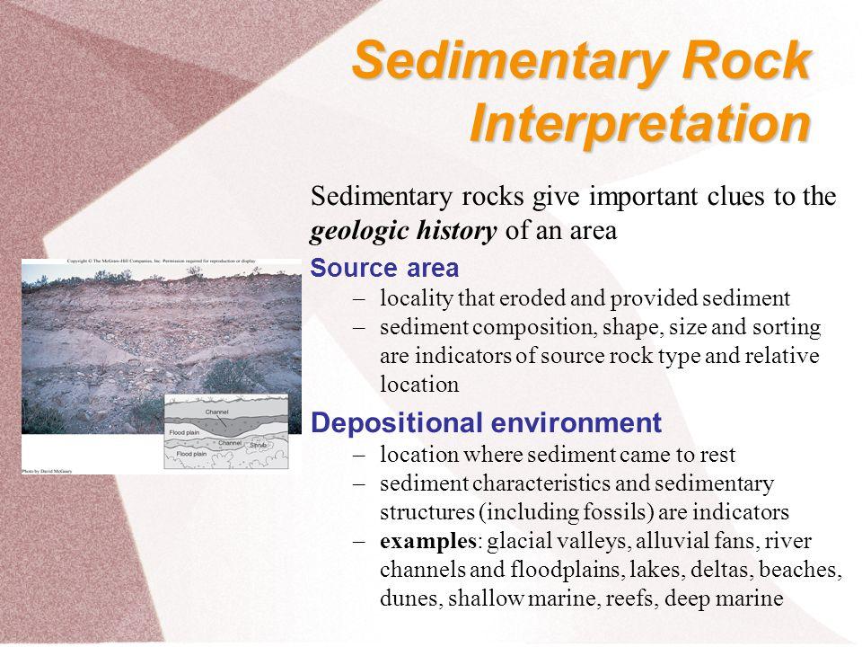 Sedimentary Rock Interpretation