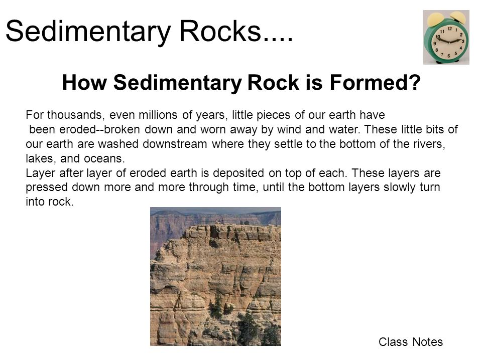 How Sedimentary Rock is Formed