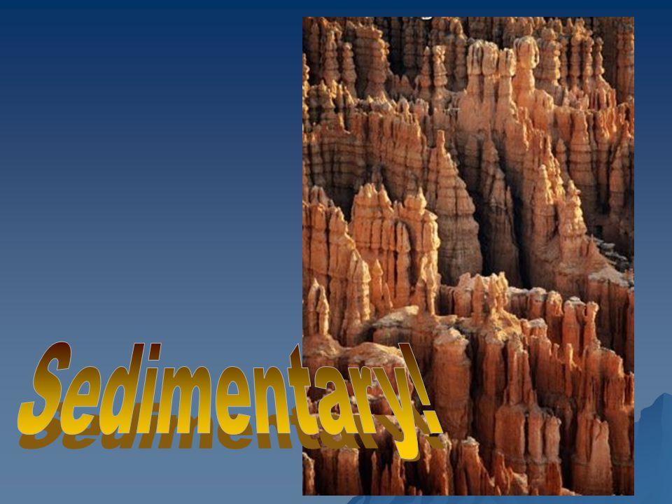 Sedimentary!