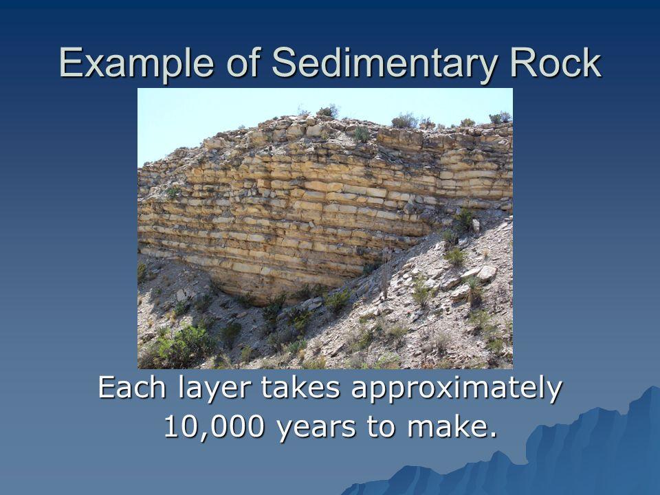 Example of Sedimentary Rock