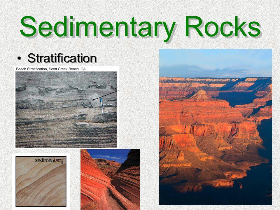 Sedimentary Rocks Stratification