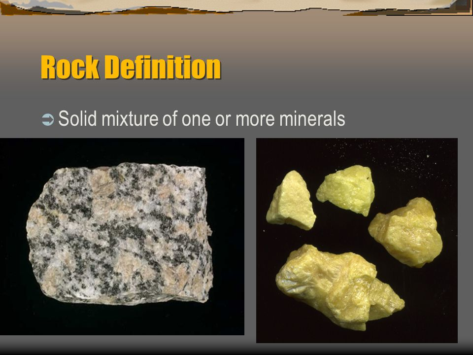 Rocks Mineral Mixtures Ppt Video Online Download