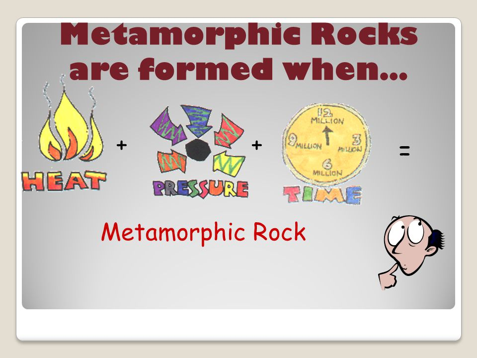 Metamorphic Rocks are formed when…