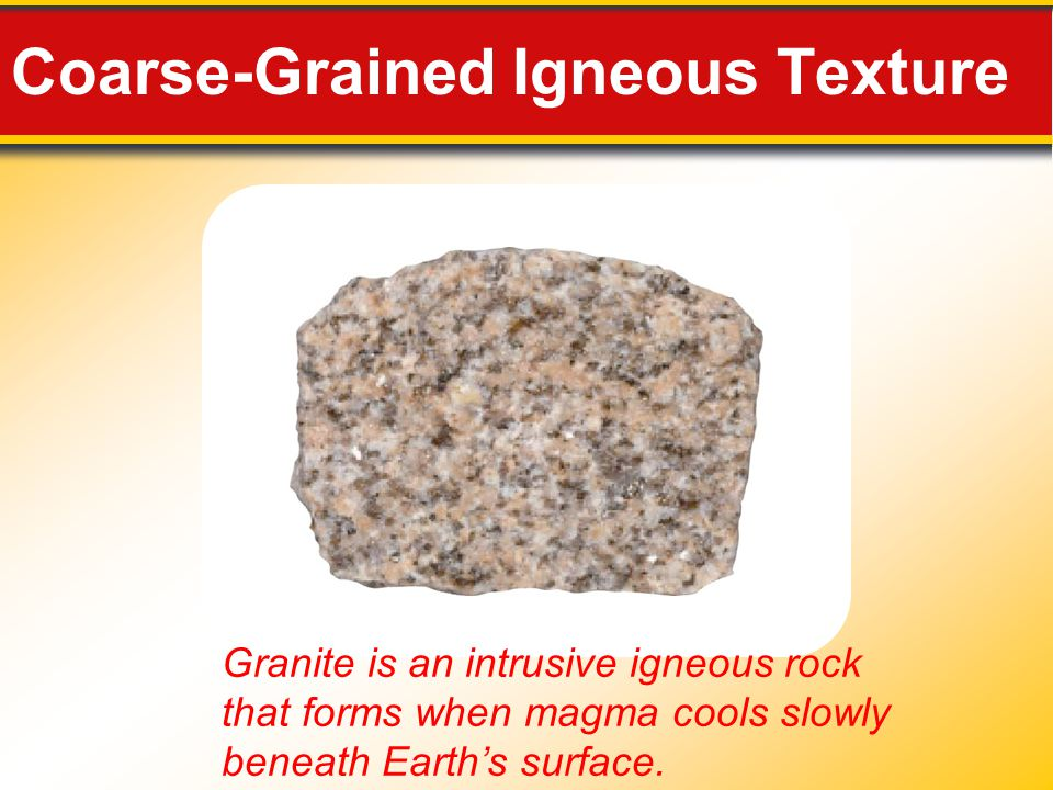 Coarse-Grained Igneous Texture