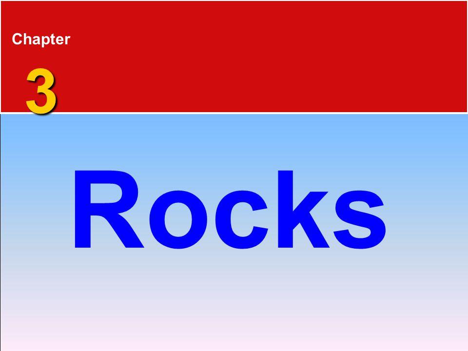 Chapter 3 Rocks