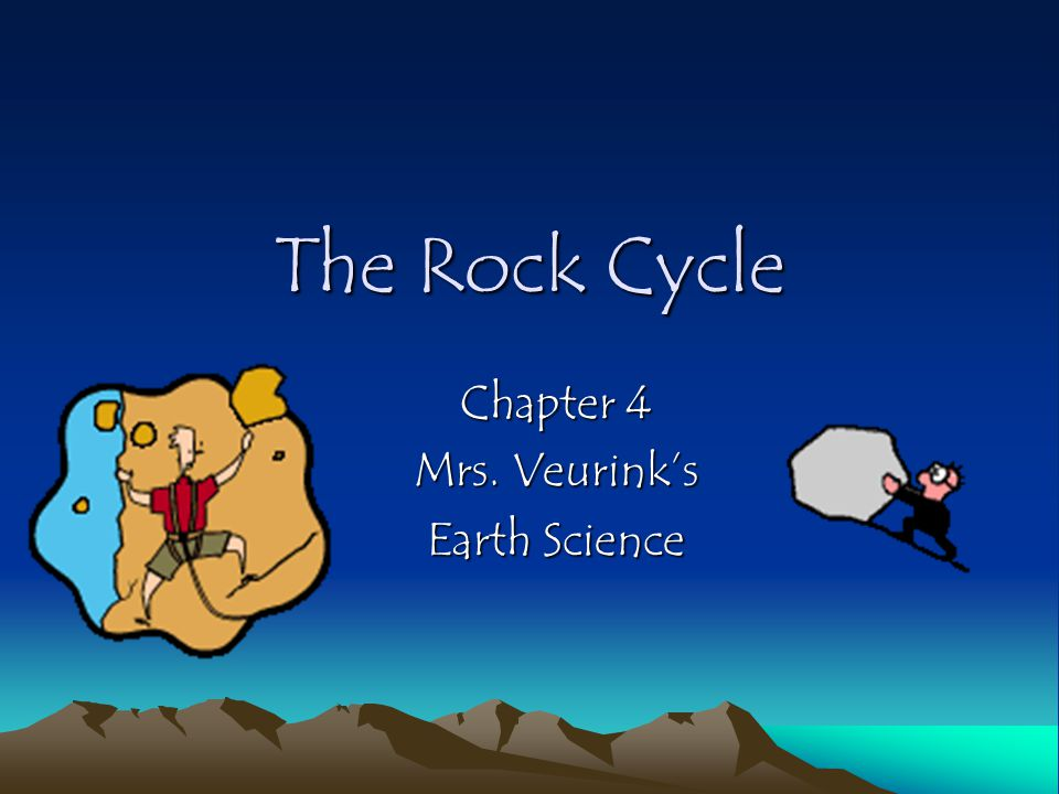 Chapter 4 Mrs. Veurink's Earth Science