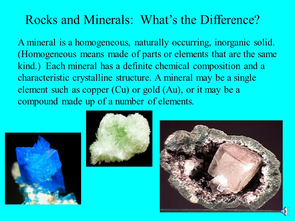 Rocks and Minerals: What's the Difference