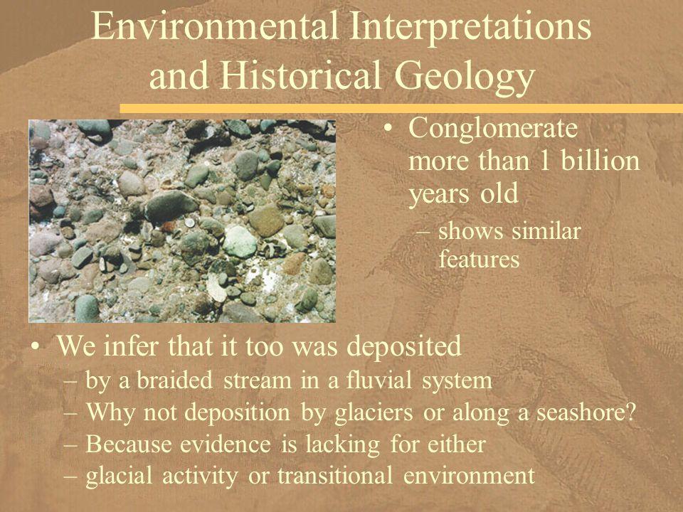 Environmental Interpretations and Historical Geology