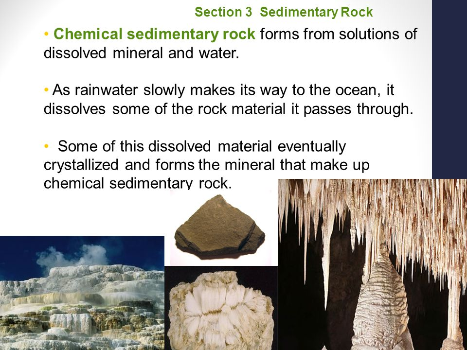 Section 3 Sedimentary Rock