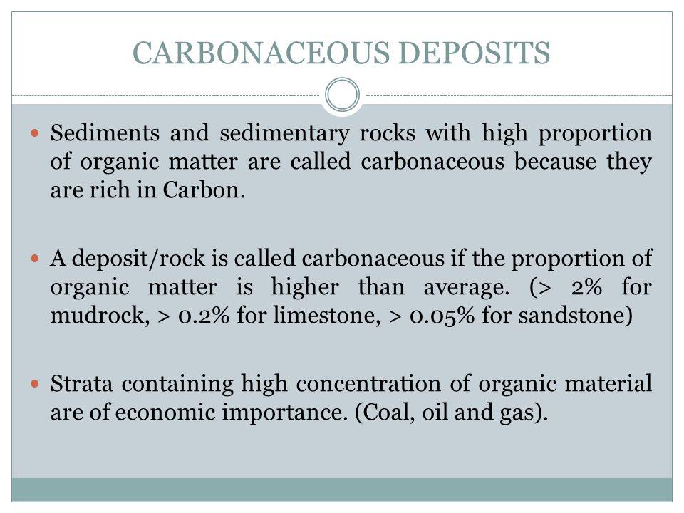 Carbonaceous Deposits