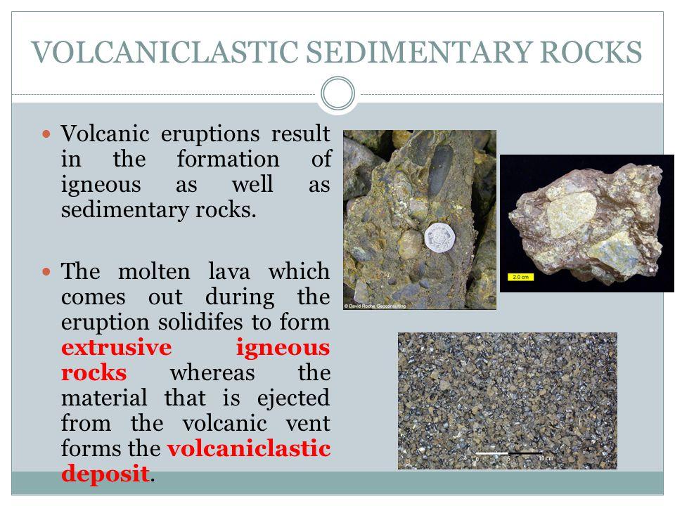 Volcaniclastic Sedimentary Rocks