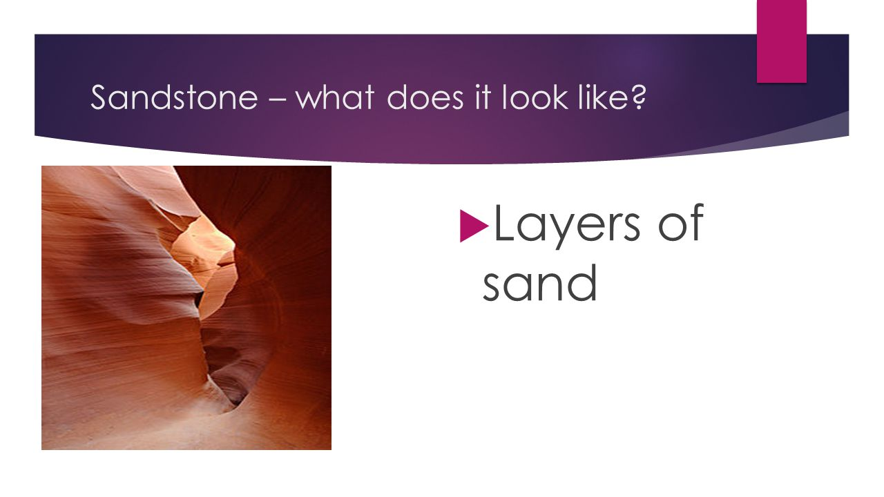 Sandstone – what does it look like
