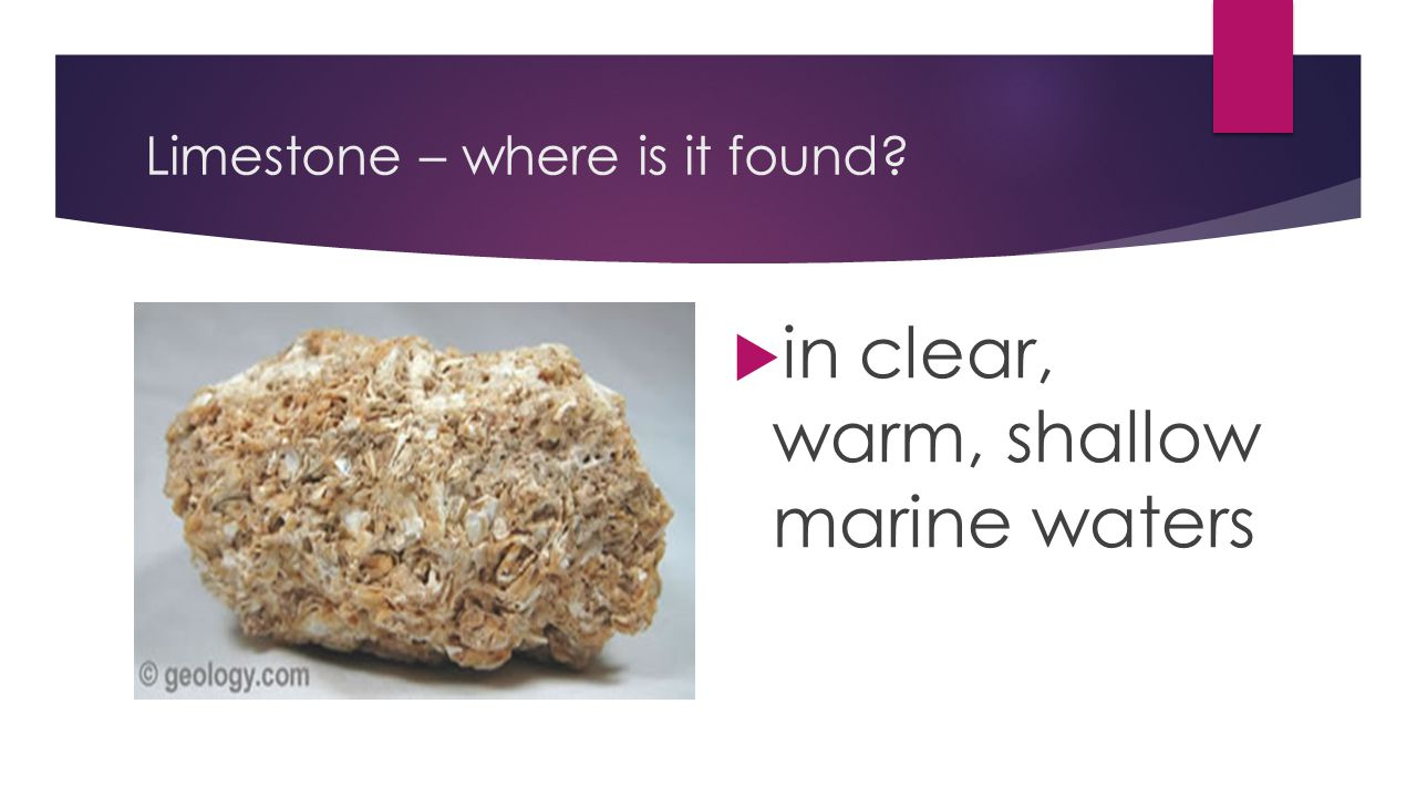 Limestone – where is it found