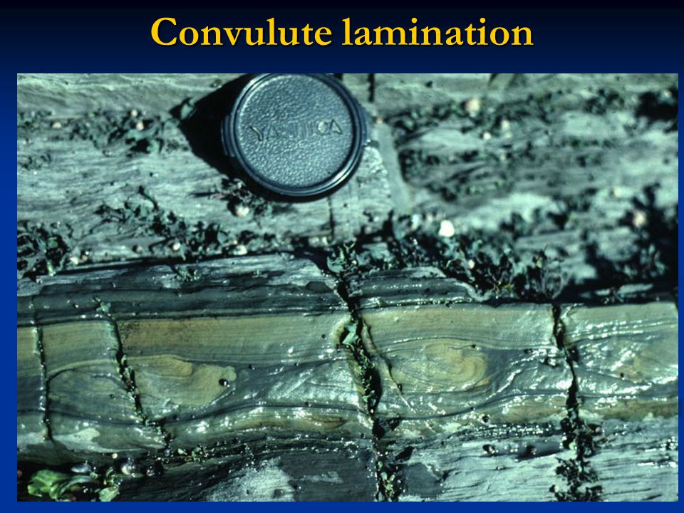 Convulute lamination