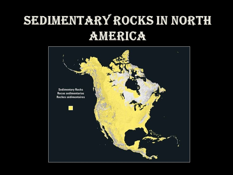Sedimentary Rocks in North America