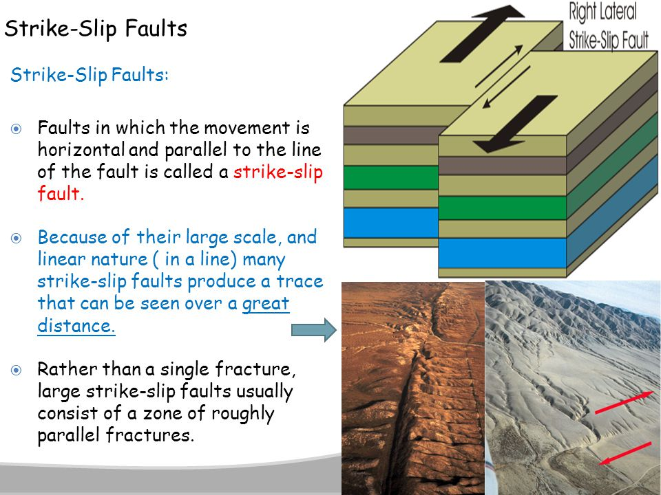 Strike-Slip Faults Strike-Slip Faults: