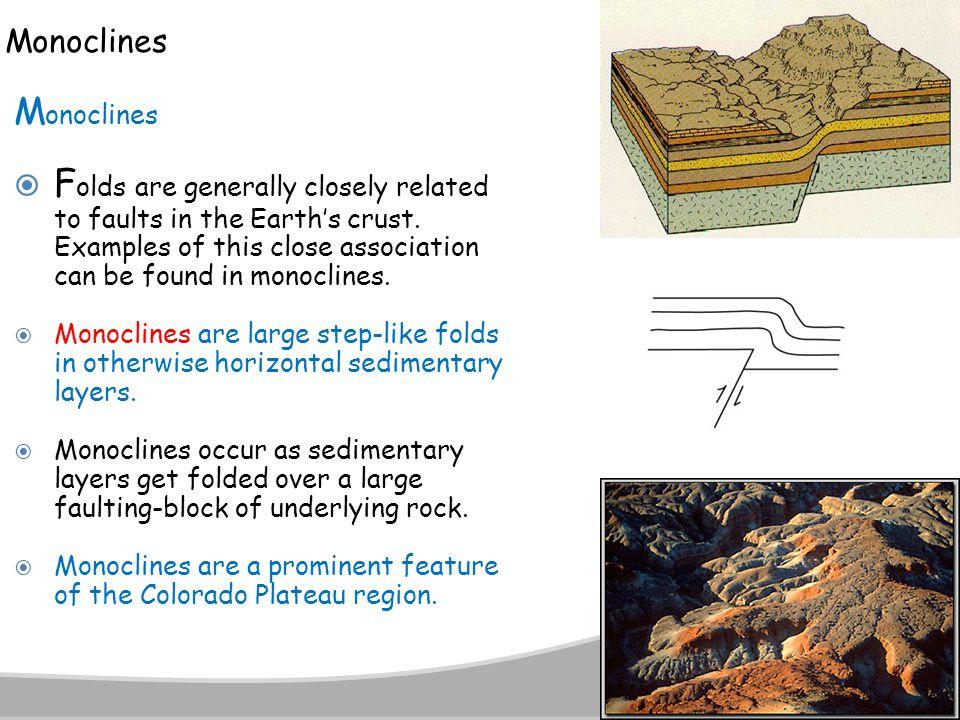 Monoclines Monoclines.