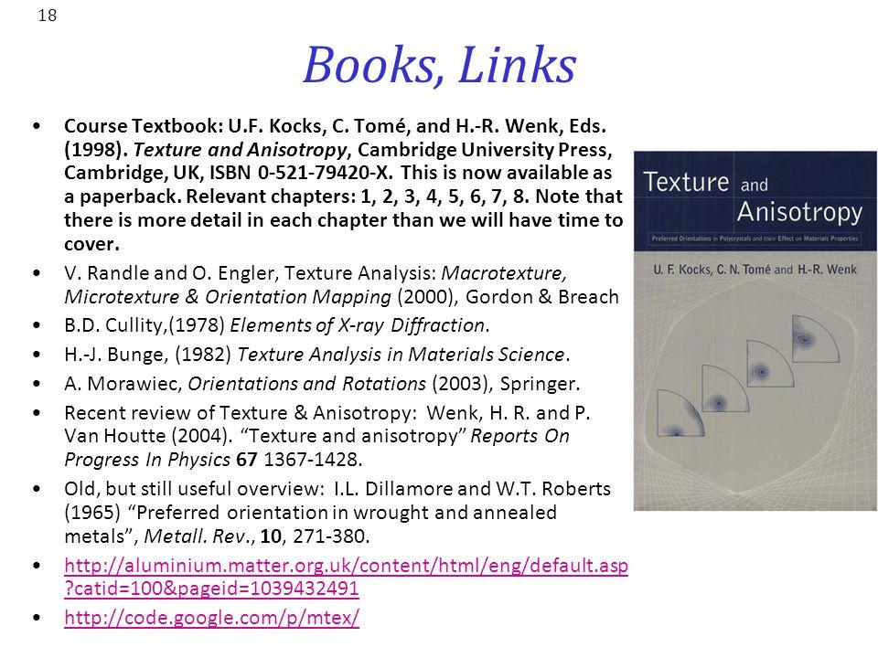 Books, Links