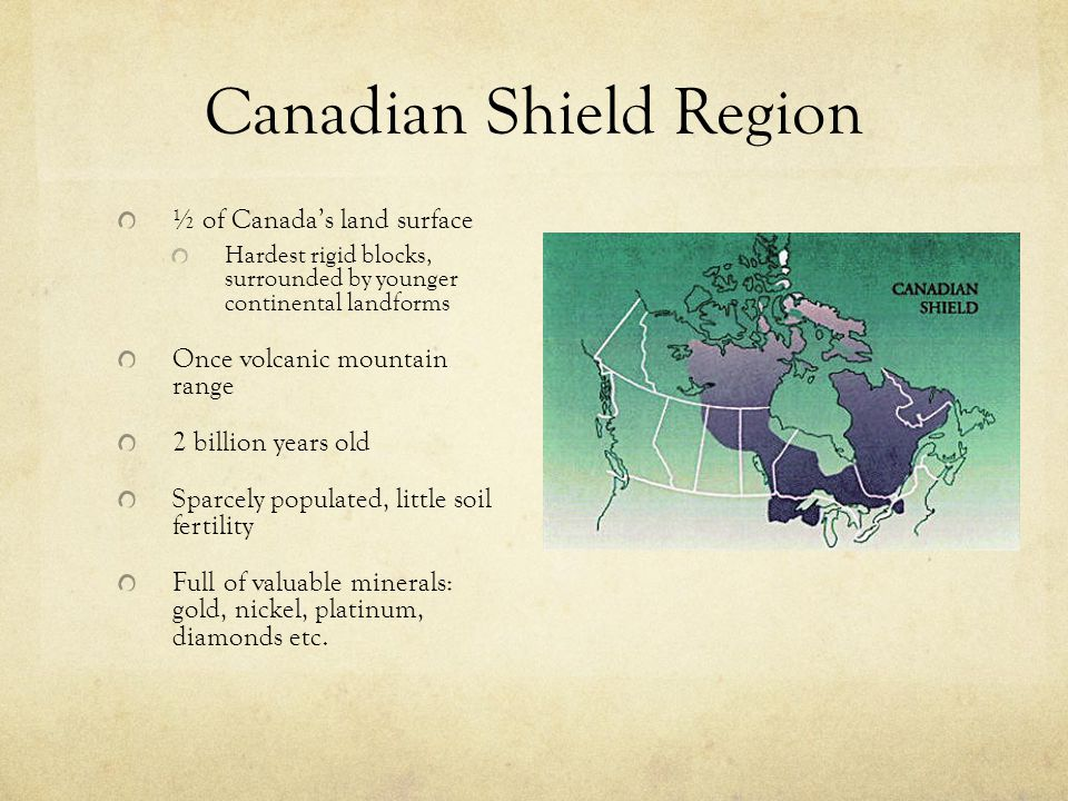 Canadian Shield Region