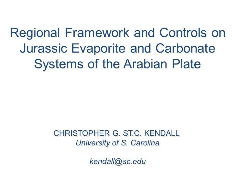 Regional Framework and Controls on Jurassic Evaporite and Carbonate Systems of the Arabian Plate