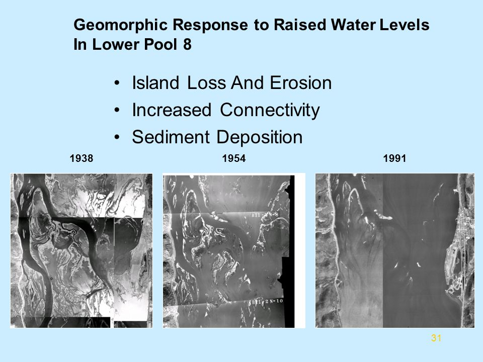 Island Loss And Erosion Increased Connectivity Sediment Deposition
