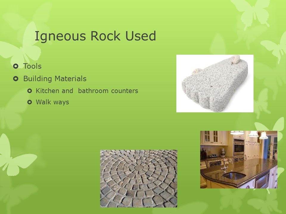 Igneous Rock Used Tools Building Materials