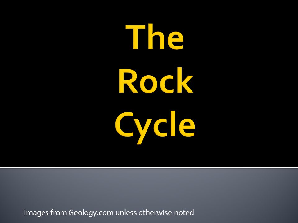 Images from Geology.com unless otherwise noted
