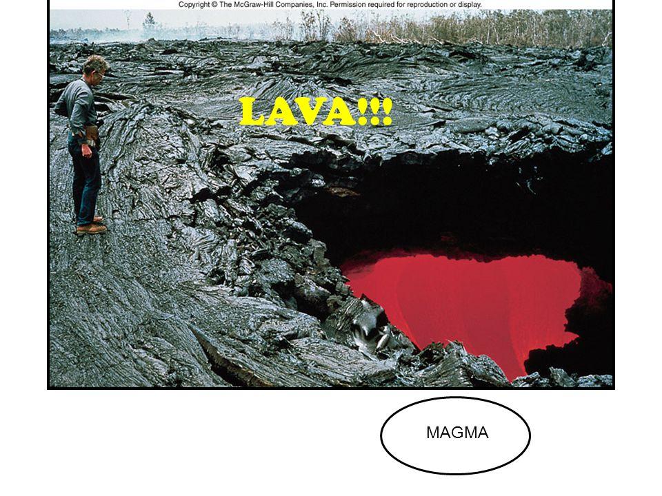 Fig. 2.9 LAVA!!! MAGMA