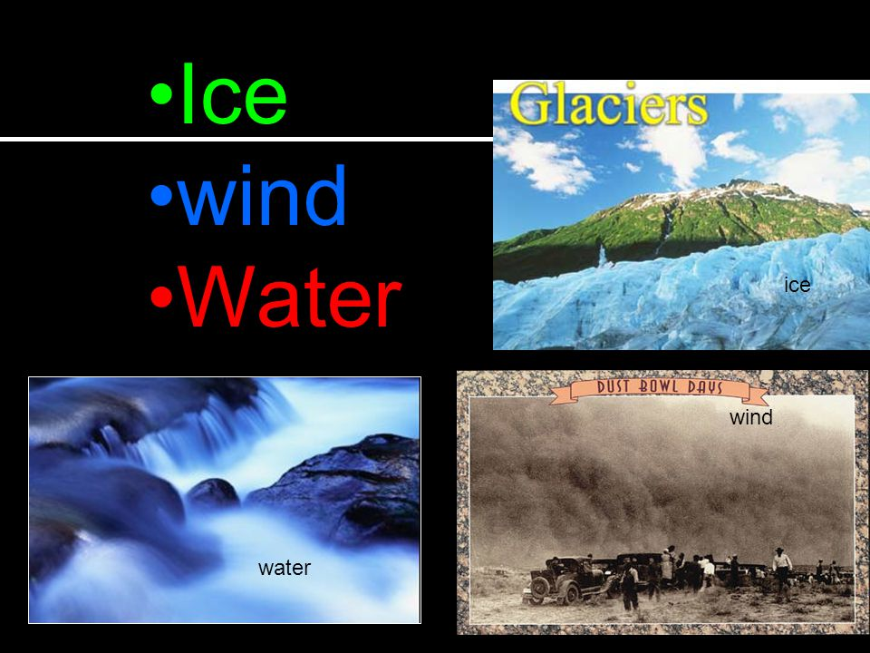 Ice wind Water ice wind water