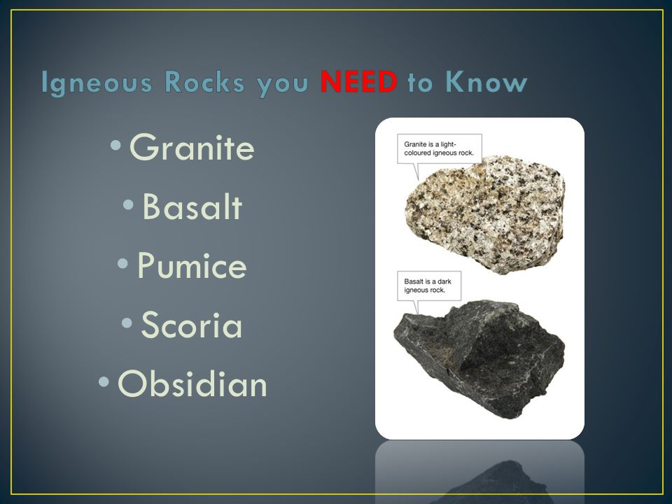Igneous Rocks you NEED to Know