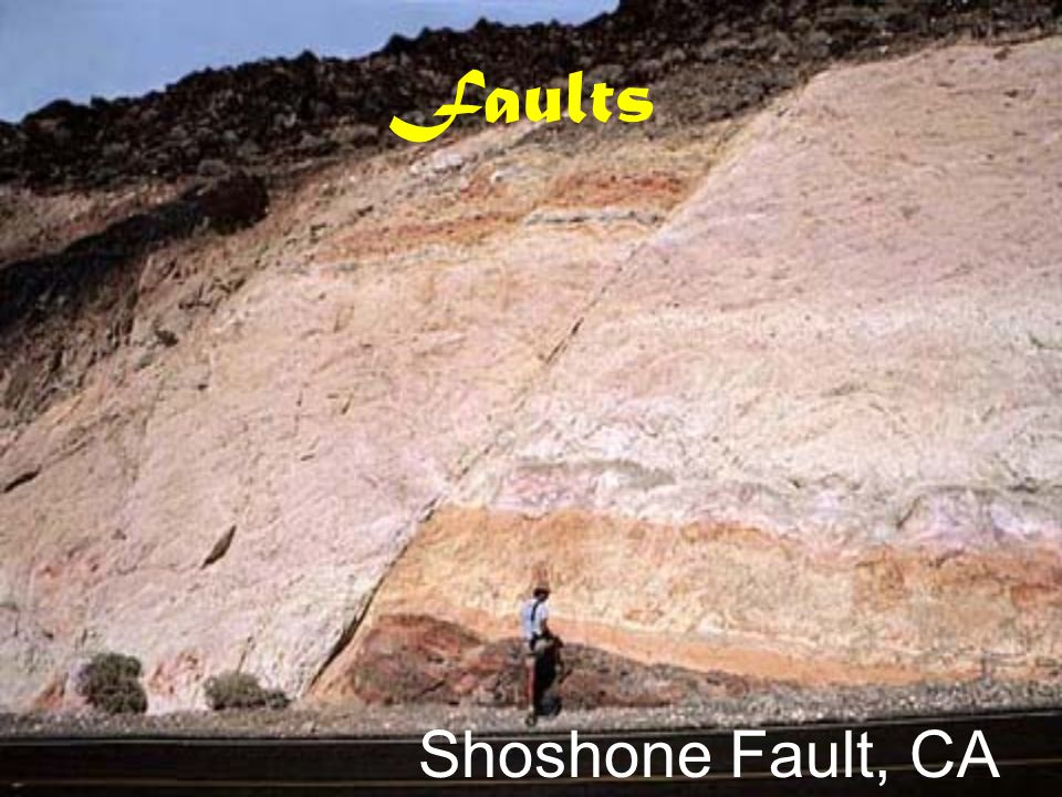 Faults Shoshone Fault, CA