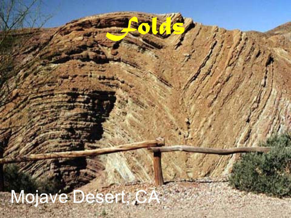 Folds Mojave Desert, CA