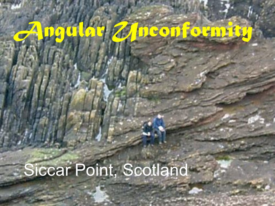 Angular Unconformity Siccar Point, Scotland