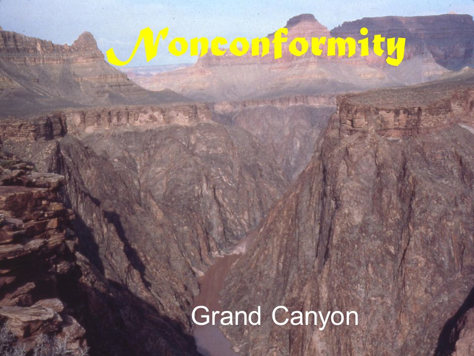 Nonconformity Grand Canyon