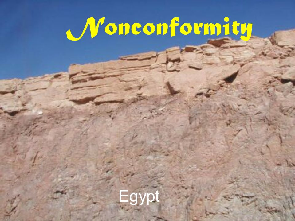 Nonconformity Egypt