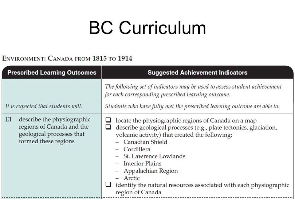 BC Curriculum