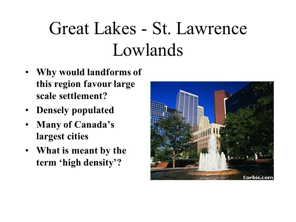 Great Lakes - St. Lawrence Lowlands