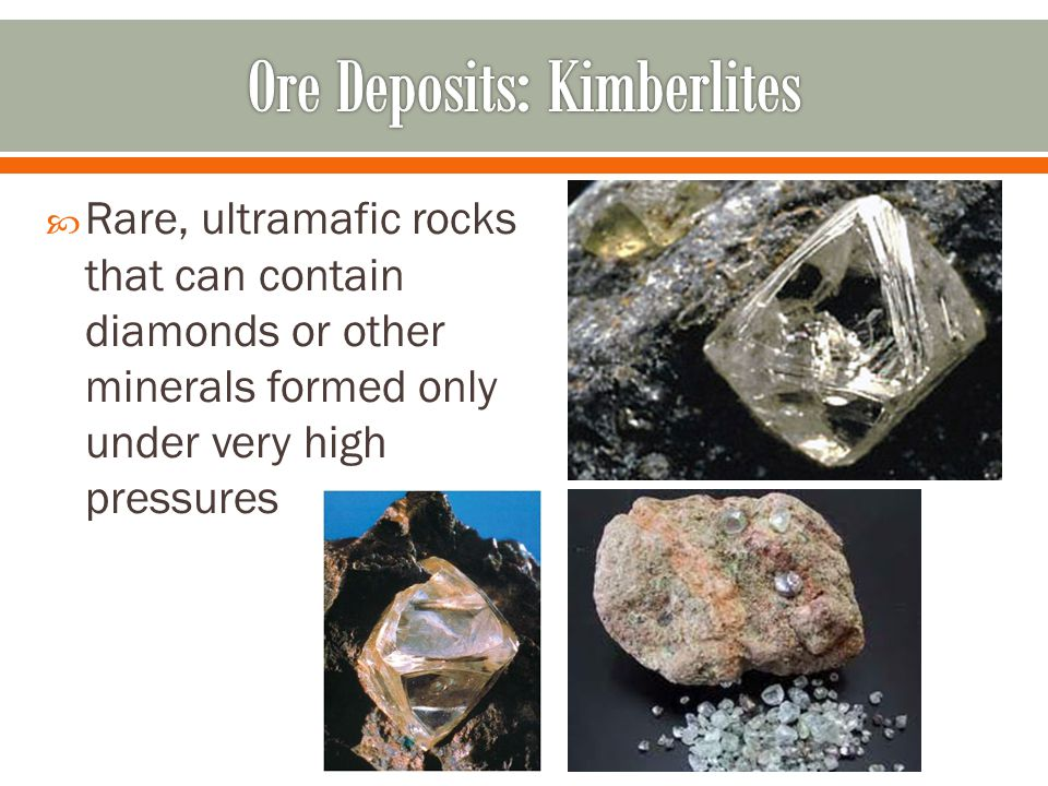 Ore Deposits: Kimberlites