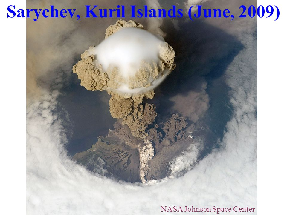 Sarychev, Kuril Islands (June, 2009)