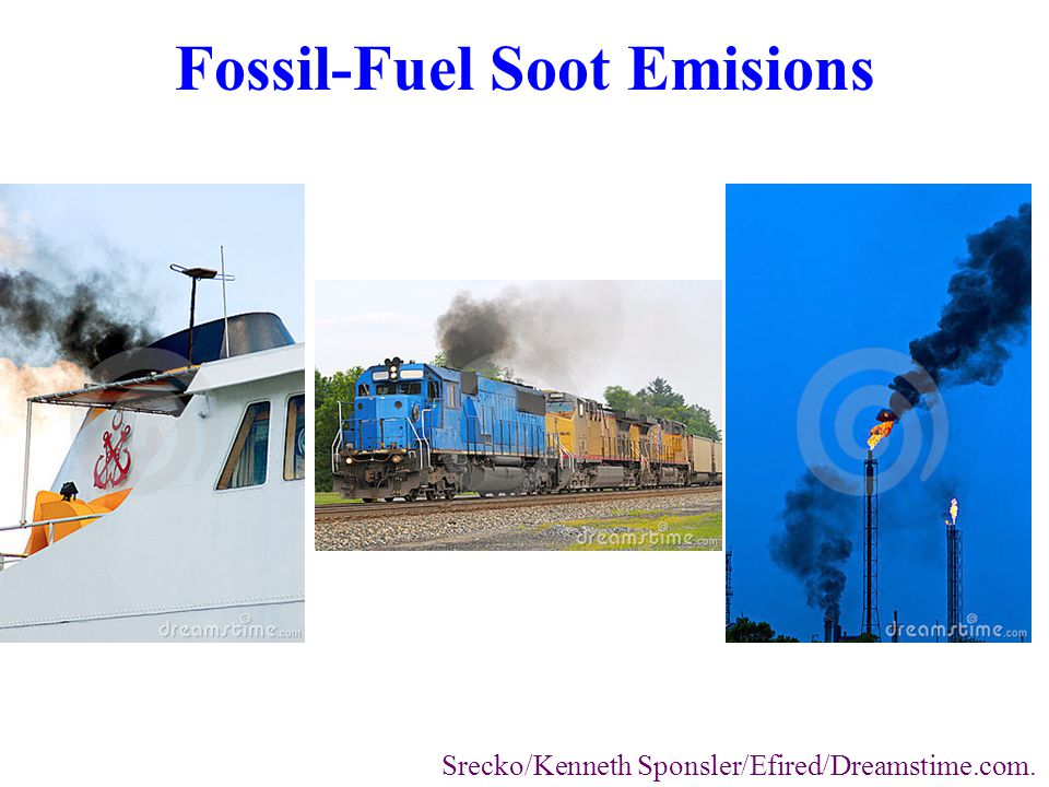 Fossil-Fuel Soot Emisions