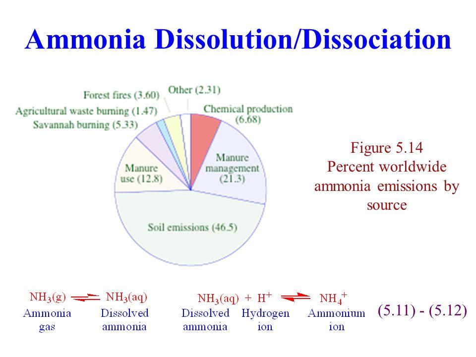 Ammonia Dissolution/Dissociation