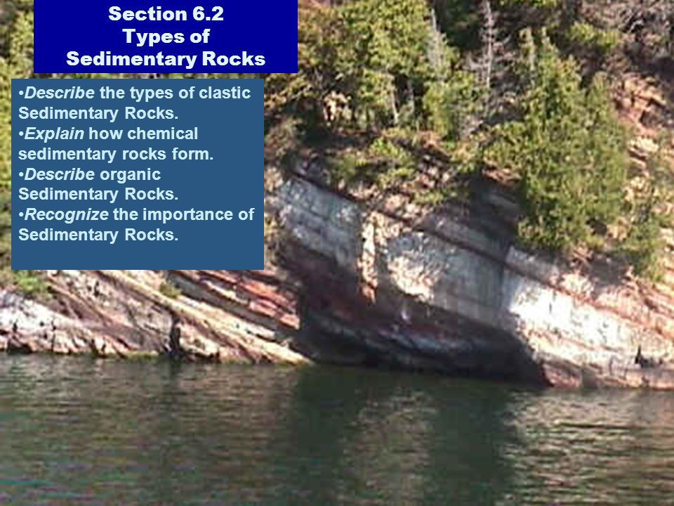 Section 6.2 Types of Sedimentary Rocks