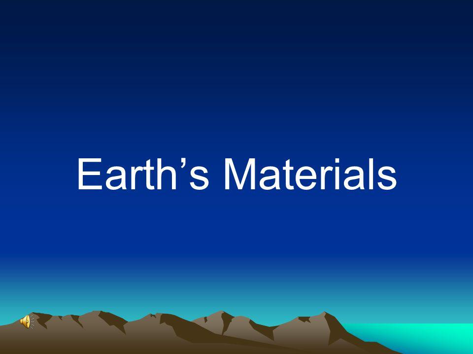Earth's Materials