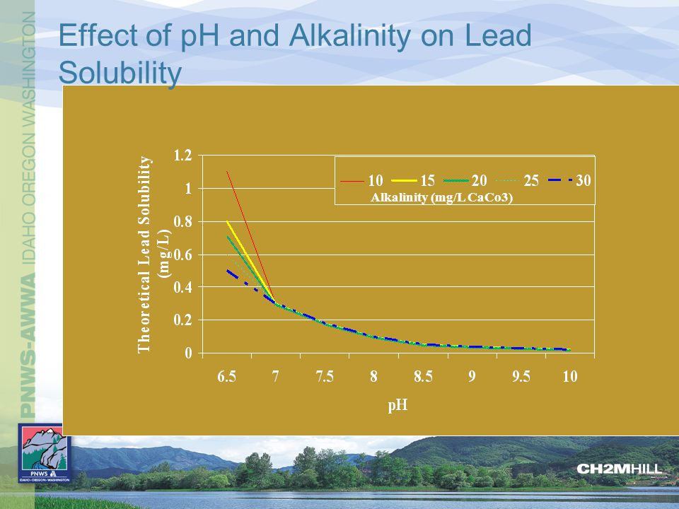 Effect of pH and Alkalinity on Lead Solubility