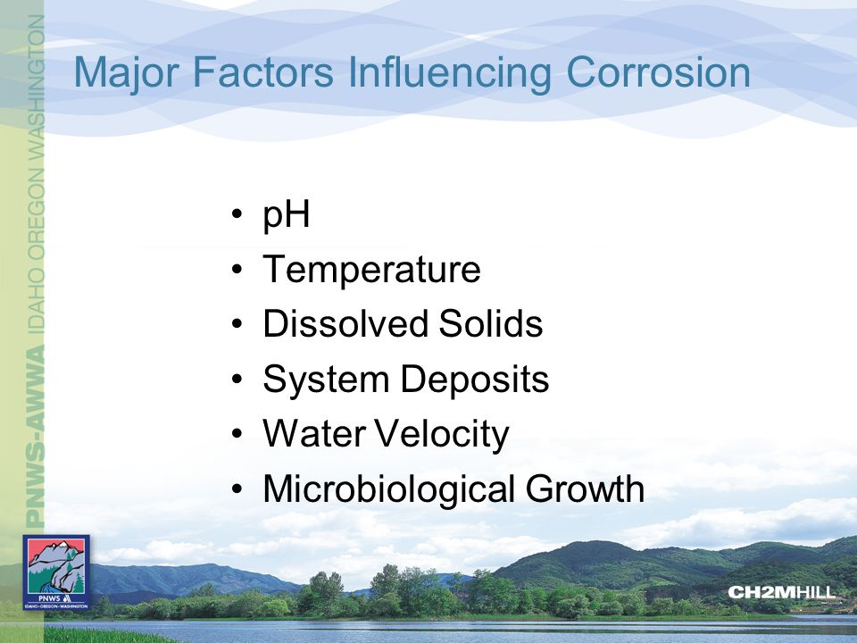 Major Factors Influencing Corrosion