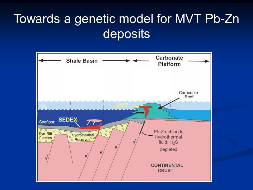 Towards a genetic model for MVT Pb-Zn deposits
