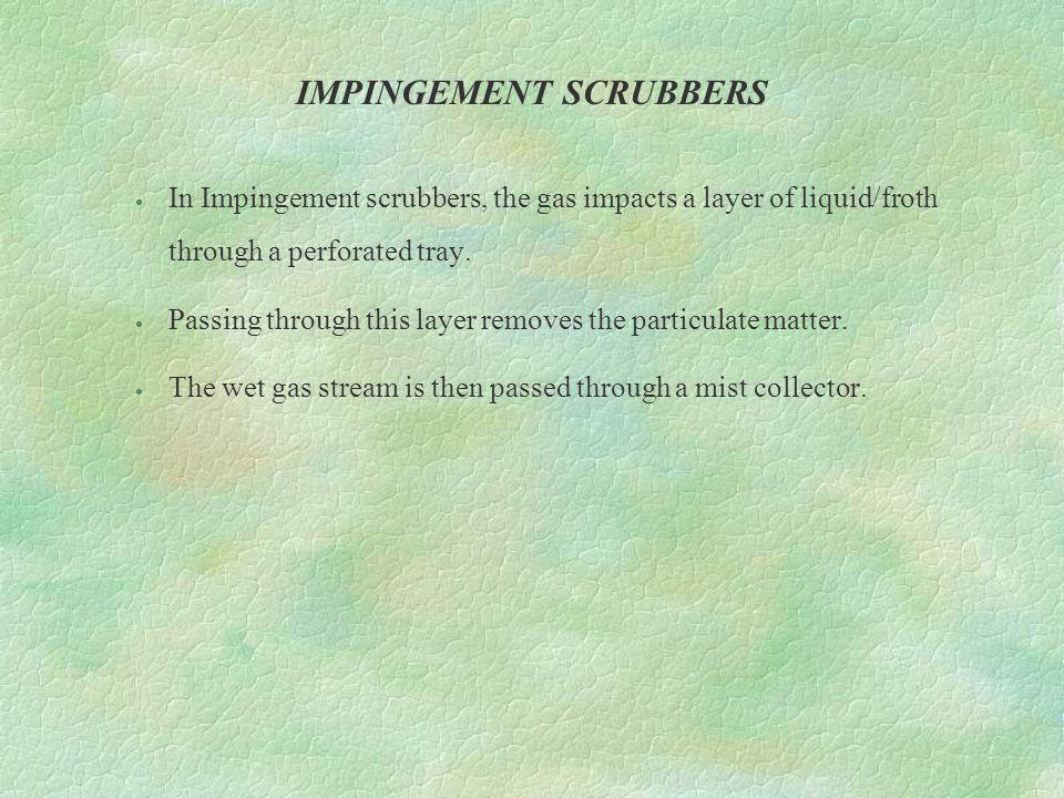 IMPINGEMENT SCRUBBERS