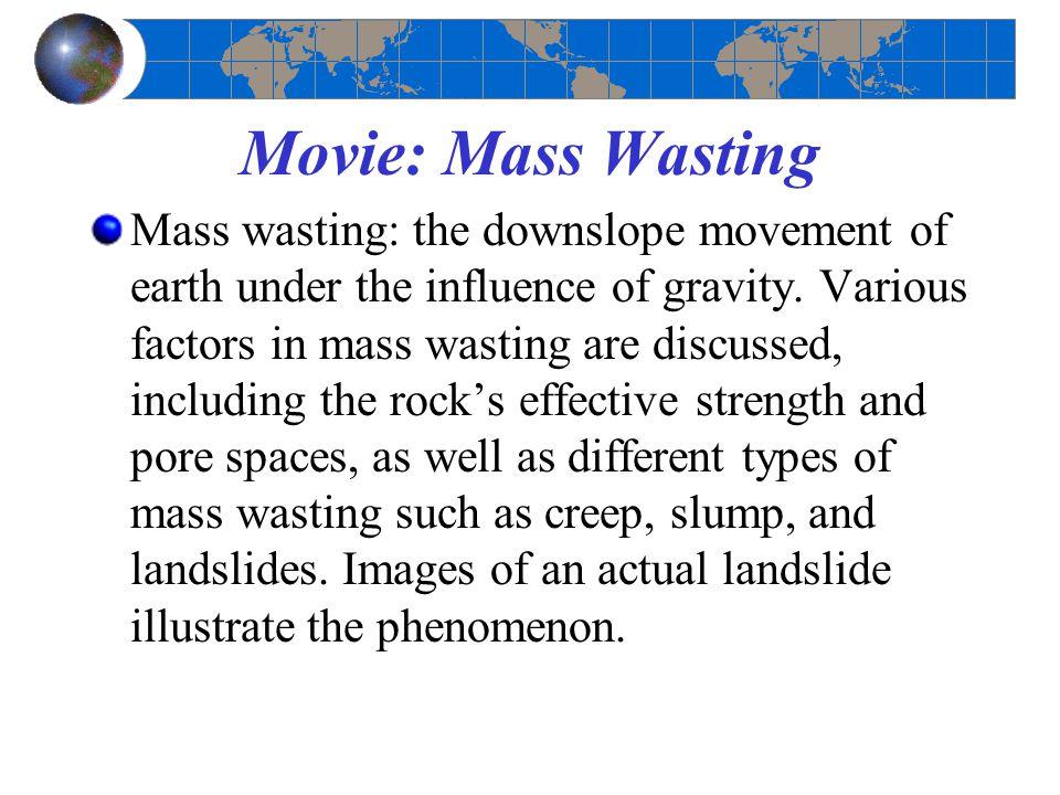 Movie: Mass Wasting