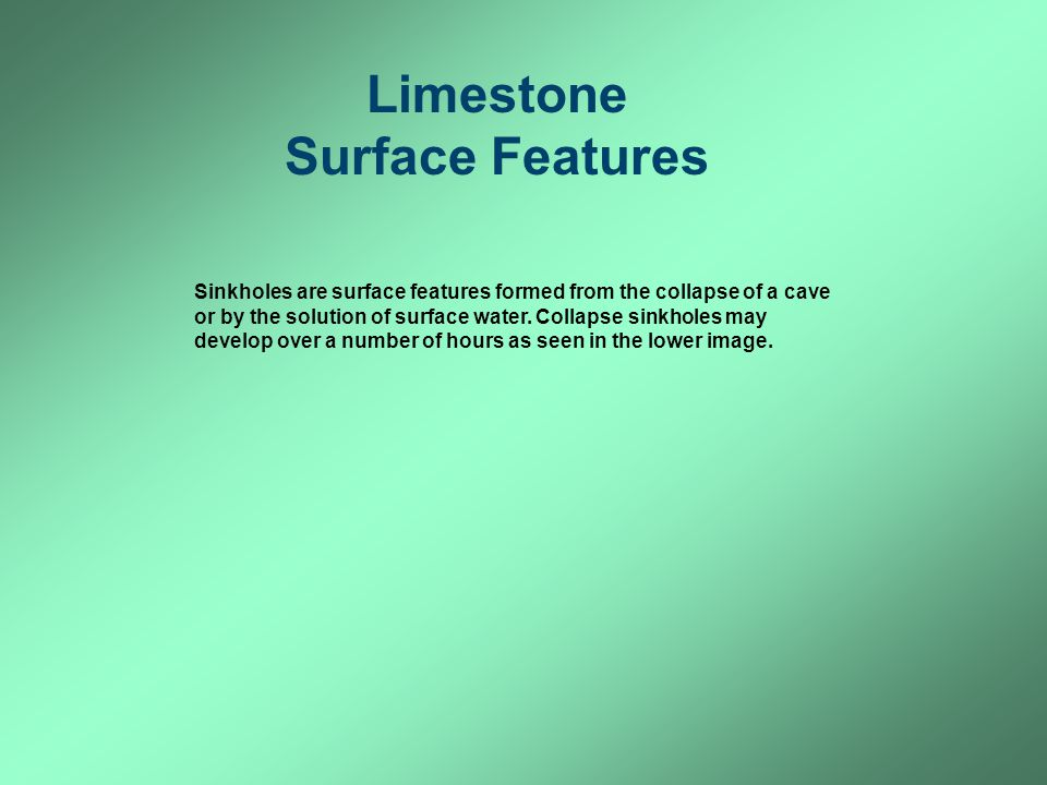 Limestone Surface Features